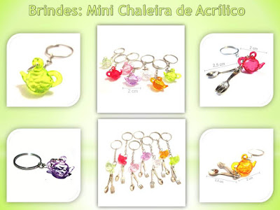 Brindes Baratos, Chaleiras de Acrílico!