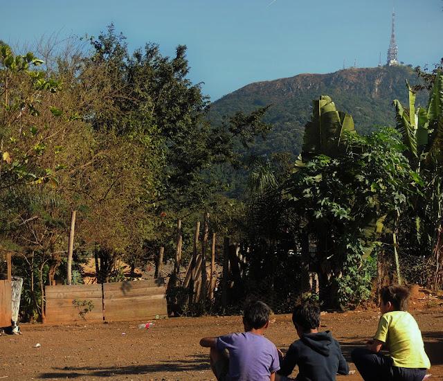 Indígenas Guarani jaraguá