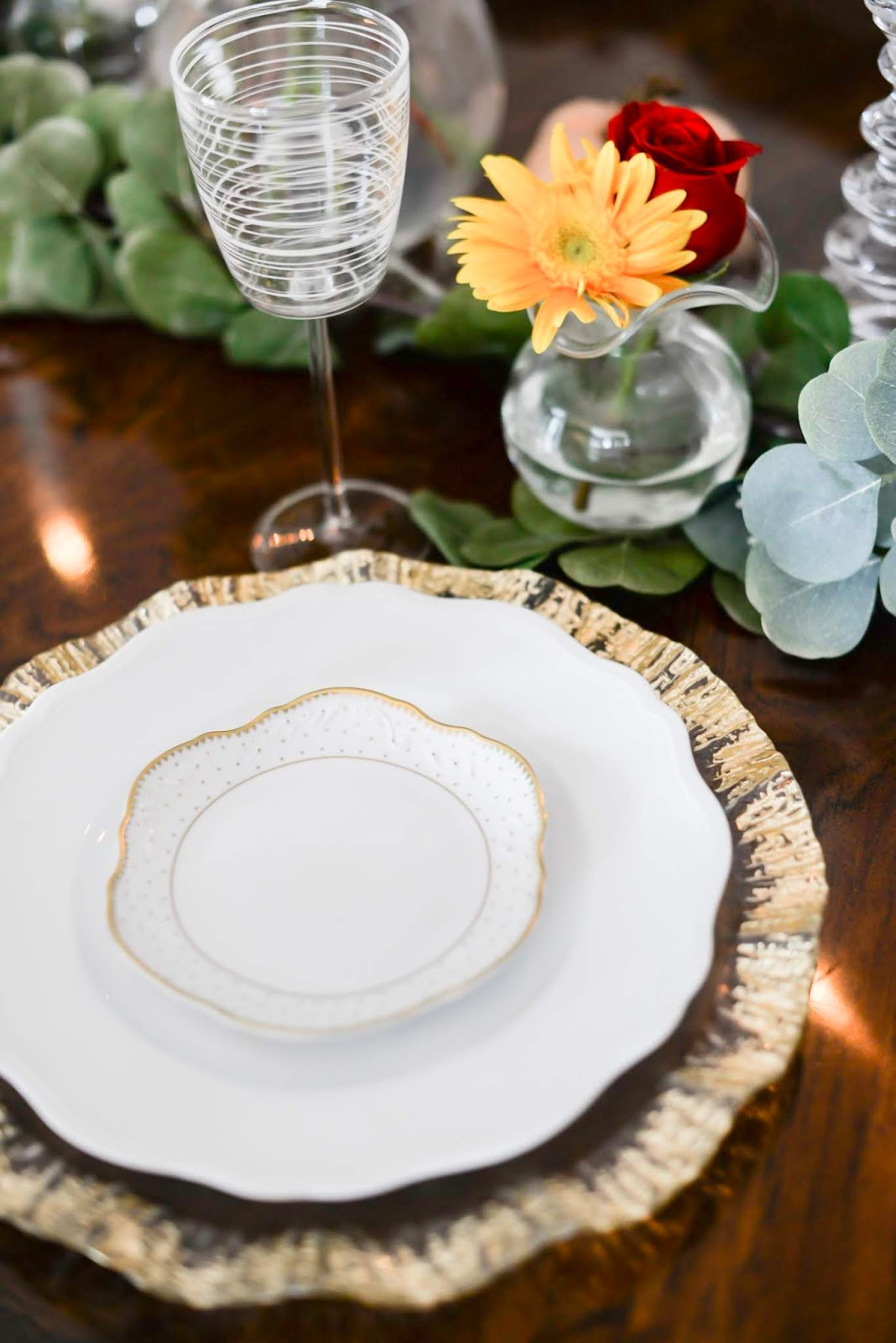 Easy Tablescape for the Holidays