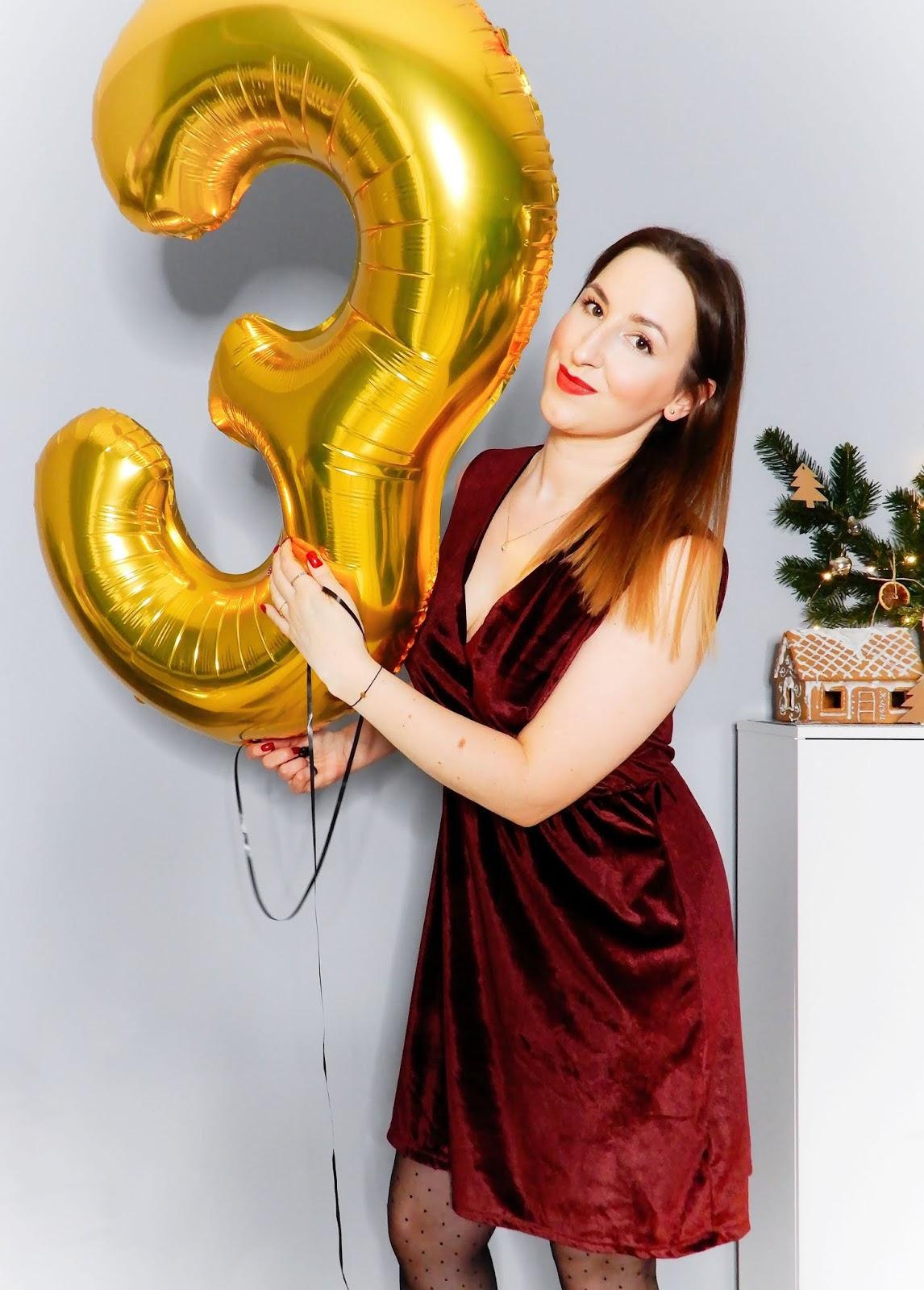 3 lata bloga! Jak blog zmienił moje życie, plany na przyszłość & urodzinowy konkurs!!