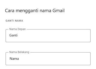 Cara Mengganti Nama Gmail Atau Akun Google Di Pc Dan Hp Tekno Zona