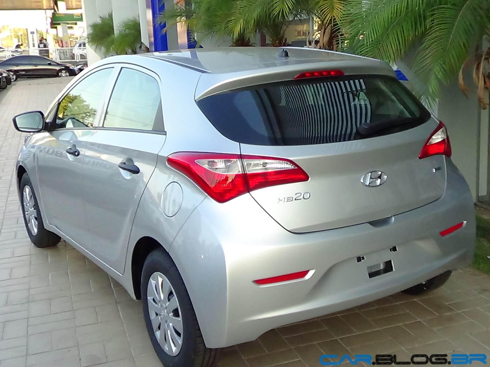 Hyundai Hb 20 Prata Metal Fotos V 237 Deo Pre 231 Os E Consumo