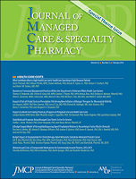 Image of Journal of Managed Care  & Speciality Pharmacy
