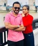 Priyamani with her husband