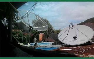 Antena Parabola Alias Satellite Dish Antenna