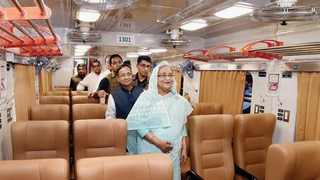 Ini Penampakan Gerbong Kereta INKA di Bangladesh