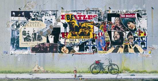 The Beatles - Anthology mosaic