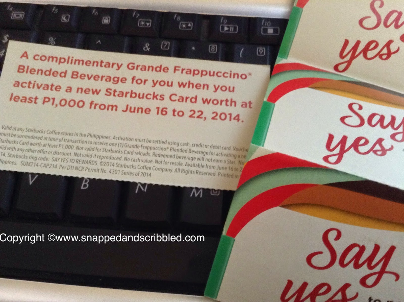 Starbucks Say YES To A FREE Grande Frappuccino