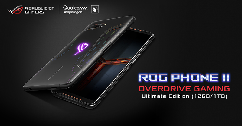 ROG Phone 2 with massive 1TB storage roll out data announced