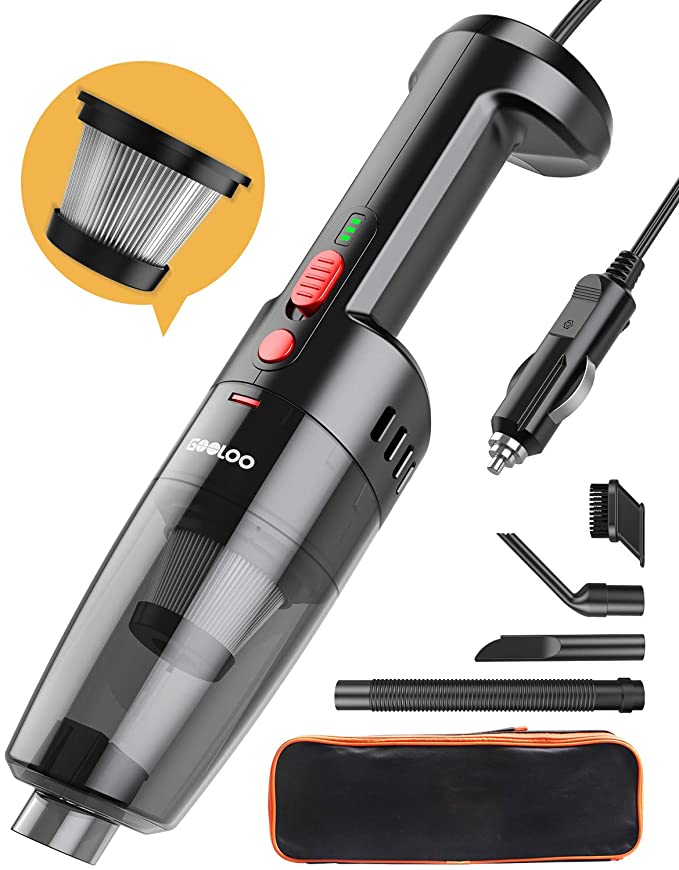 35% off GOOLOO 6500PA Car Vacuum Cleaner for Car