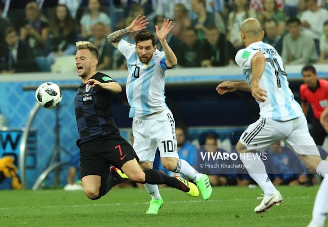 Argentina IMEPATA TABU SANA ..baada ya  Kichapo  cha MBWA KOKO  cha 3-0 na Croatia