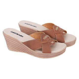 Sandal Wedges Wanita Catenzo NN 046