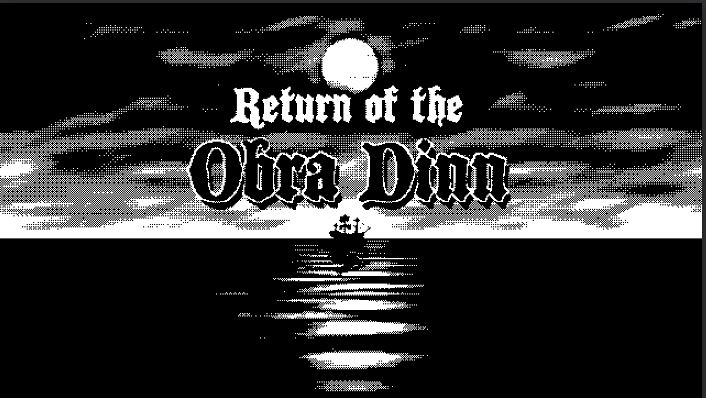 15 Game Indie Terbaik 2018 Return of The Obra Dinn
