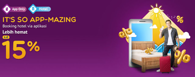 #MisterAladin - #Promo Booking Hotel Diskon 15% Via APP