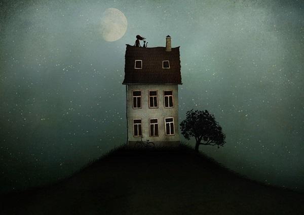 por Maja Lindberg | ilustraciones imaginativas, infantiles, imagenes bonitas, illustration art, cool stuff.
