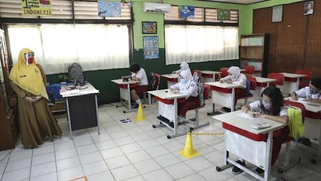 Beberapa Wilayah di DKI Jakarta Mulai Uji Coba Sekolah Tatap Muka