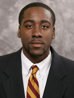 James Harden's Photo with Pencil Mustache & Goatee