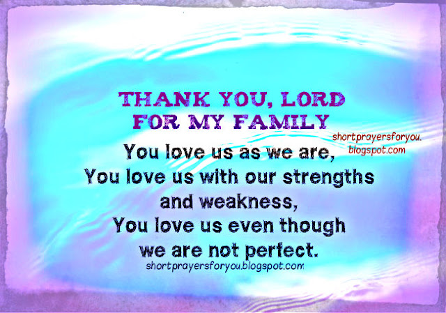 short prayers for you by Mery Bracho, free christian card with prayers image for sharing with family and friends.