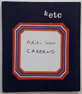 Caderno, de Adília Lopes