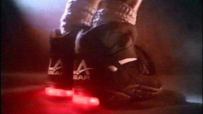 Zapatos de luces de los 90s