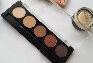 golden rose eyeshadow palette, brown line, brown palette, eyeshadow palette, kahverengi göz paleti, 5li far paleti, golden rose eyeshadow, far paleti, sonbahar far paleti