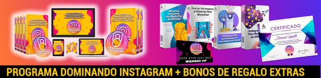 programa de estudio DOMINANDO Instagram