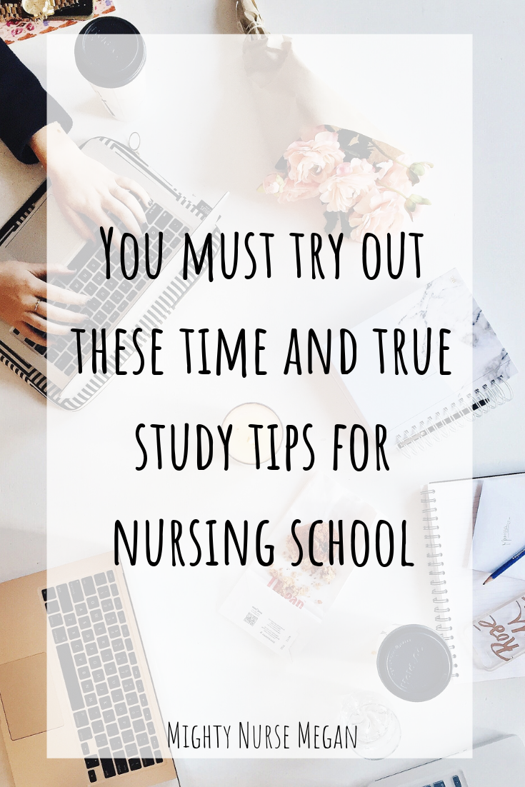 Struggling with grades in nursing school? You must try these four study tips if you want to succeed in nursing school.