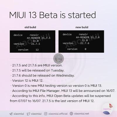 MIUI 13 build Pertama Masuk tetapi sepertinya Xiaomi Mi Mix 4 akan berjalan di MIUI 12.5