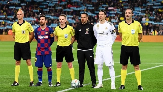 The Clásico between Real Madrid and Barcelona is witnessing a clear progress in age