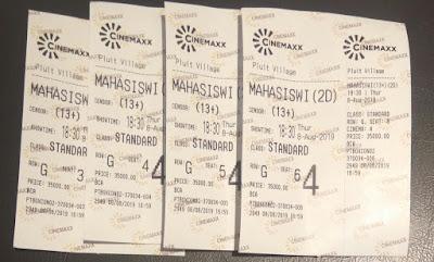 Nonton Film Mahasiswi Baru di Cinemaxx Pluit Village