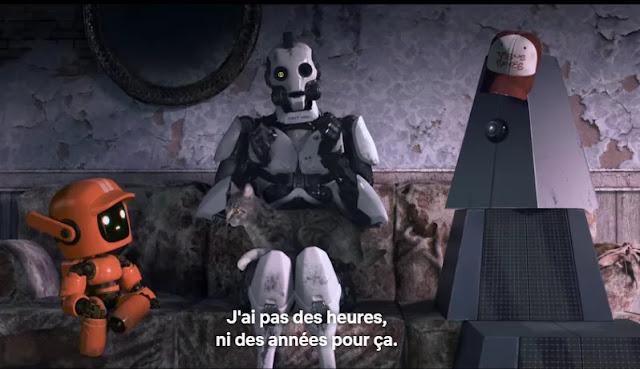 Three Robots est adaptée d'une nouvelle de John Scalzi