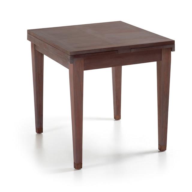 Mesas de comedor 5 mesas cuadradas de madera for Mesas cuadradas de madera