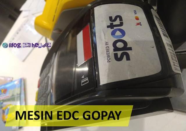 Mesin EDC SPOTS Gopay