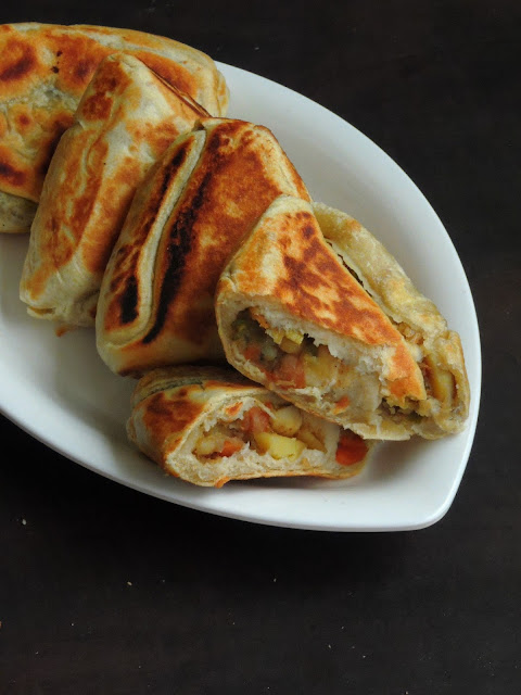 Srilankan Vegetable Roti