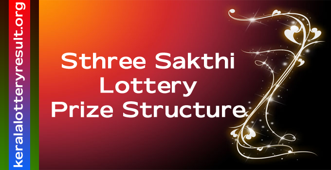 Prize Structure of Sthree Sakthi Weekly Lottery 2021