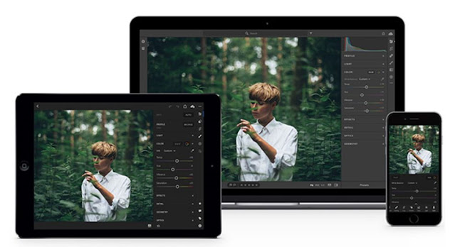 Aplikasi Adobe Lightroom CC – Photo Editor