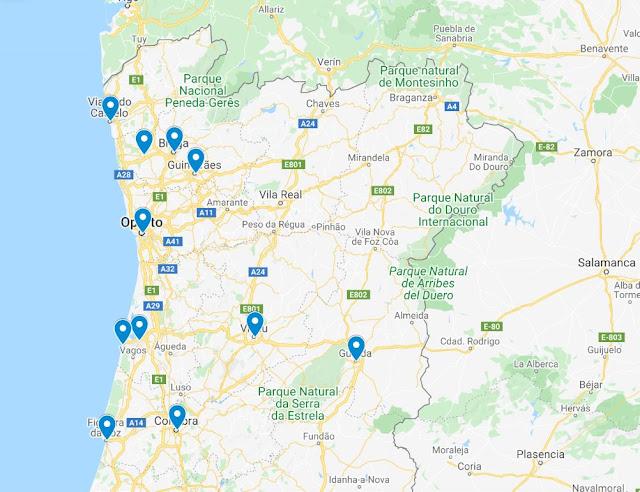 viajar en coche norte de Portugal ¿qué ver?