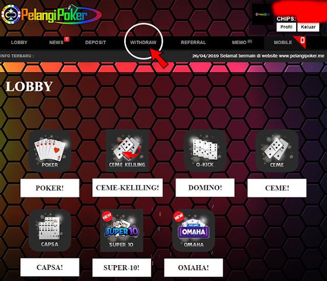 Cara-Melakukan-Withdraw-(PenarikanDana)-Judi-Online-Pelangi-Poker