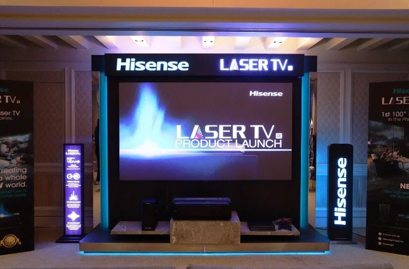 "Hisense is About to Change Your TV Viewing Experience with its First 100"" 4K Laser TV"