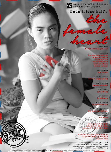 The Female Heart Poster