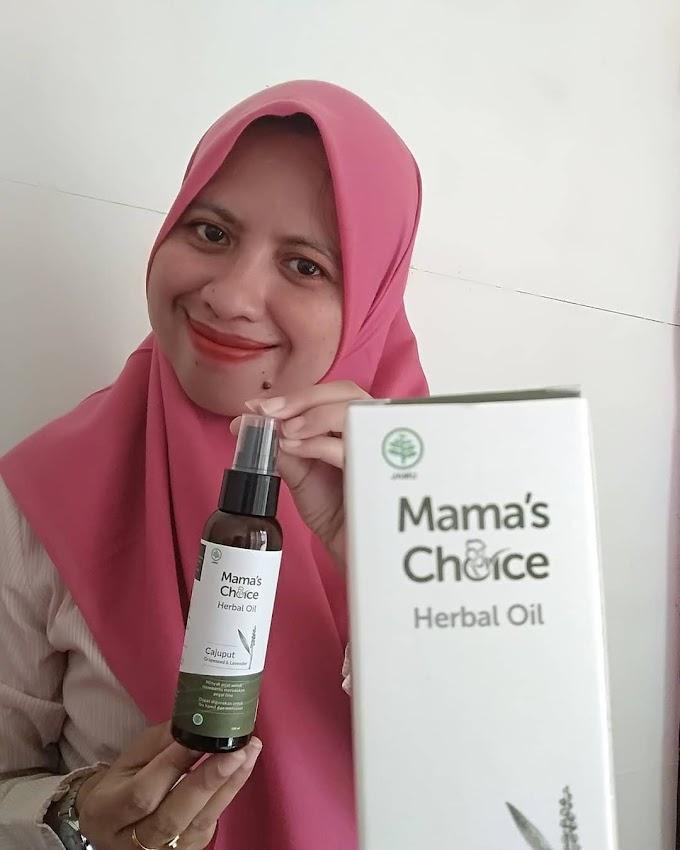 MAMA'S CHOICE HERBAL MASSAGE OIL; RAHASIA TUBUH FIT TANPA PEGAL SAAT MENYUSUI