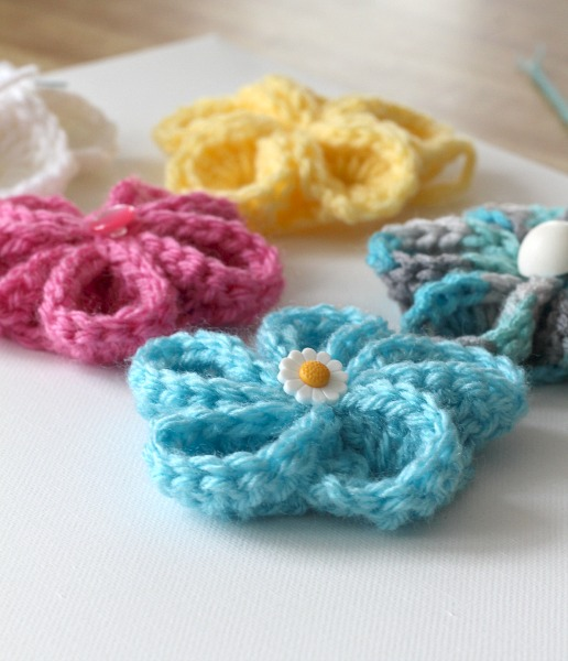 Easy Springtime Crochet Flower Wall Art Grateful Prayer Thankful