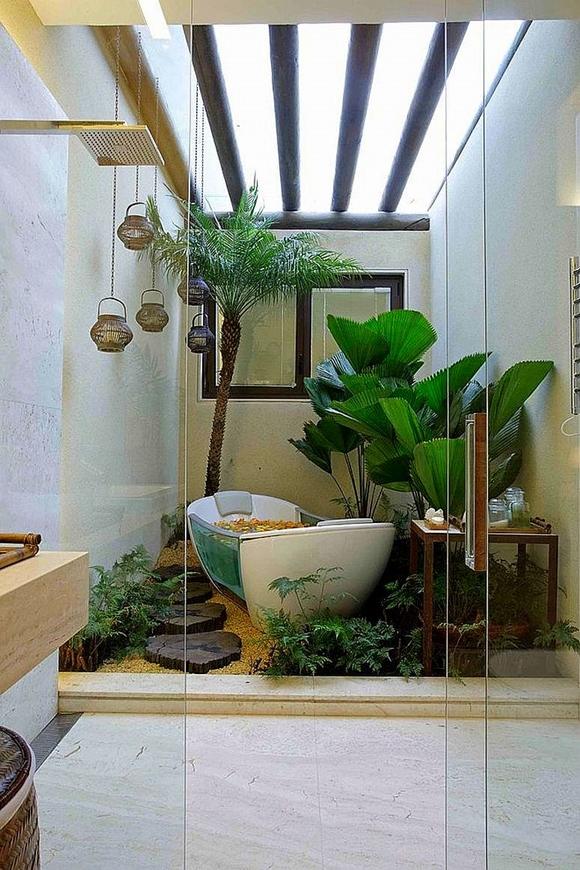 Дизайн ванной комнаты - фото лучших тенденций 2017 года
