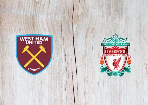 West Ham United vs Liverpool -Highlights 31 January 2021