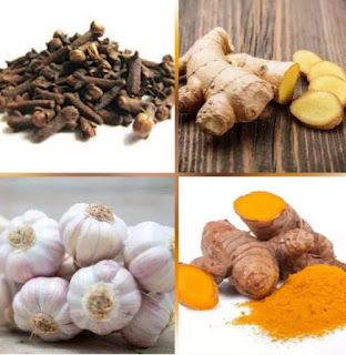 Grind Garlic, Tumeric and Ginger Together To Treat These Health Problems