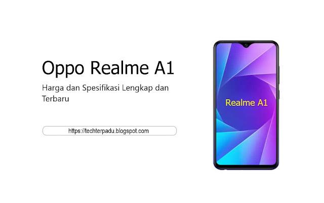 Harga dan Spesifikasi Lengkap Oppo Realme A1 Terbaru