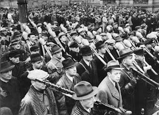 Volkssturms, defensa de Berlín