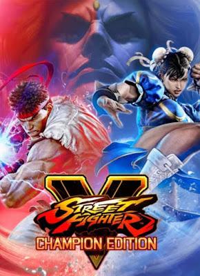 Capa do Street Fighter V: Champion Edition