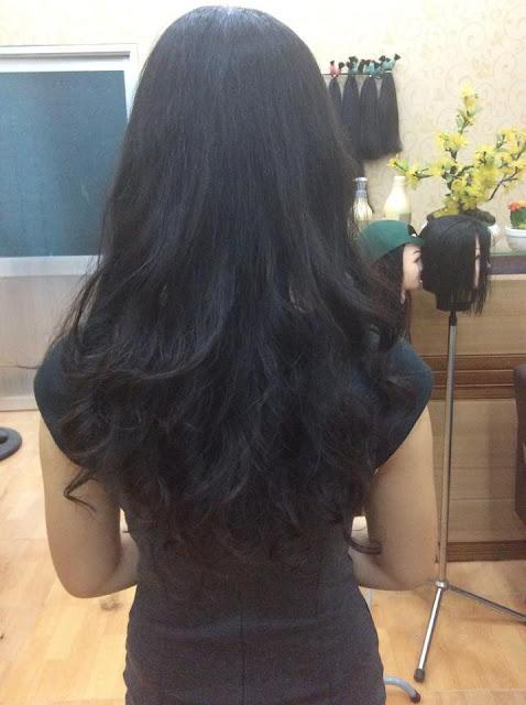 Tóc nối dài 70cm, bán tóc nối đẹp giá rẻ nhất