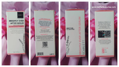 Packaging Scarlett Brightly Ever After Serum